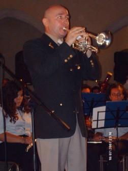 Roger Webster e la sua cornetta